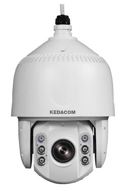 Εξωτερικού χώρου speed dome 2-megapixel KEDACOM IP κάμερα με H.265, 20x οπτικό ζουμ, Starlight, 180μ IR, WDR, 3DNR, περίβλημα IP66 αποκλειστικά από τη LEXIS