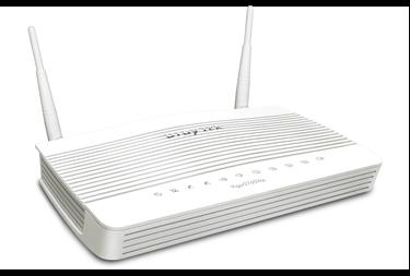 επαγγελματικό ασύρματο VoIP draytek vigor 2765Vac router Annex A για PSTN γραμμή προσφέρει σταθερό VPN