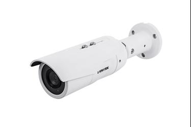 κάμερα εξωτερικού χώρου 5-megapixel IP κάμερα με 60 fps, H.265, φακό 3.6mm, 30μ IR, WDR Pro, SNV, Trend Micro IoT Security  για προστασία από επιθέσεις
