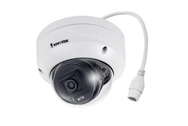 κάμερα εξωτερικού χώρου 2-MP fixed dome IP κάμερα με αντιβανδαλιστικό περίβλημα, φακός 2.8mm, H.265, SNV, 30μ IR, Smart Stream III, WDR Pro, IP66, Trend Micro IoT Security