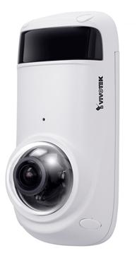 Εξωτερικού χώρου 5-MP πανοραμική IP κάμερα με αντιβανδαλιστικό περίβλημα, ενσωματωμένο μικρόφωνο, 15μ IR, Smart Stream III, WDR Pro, 3DNR, IP66, SNV
