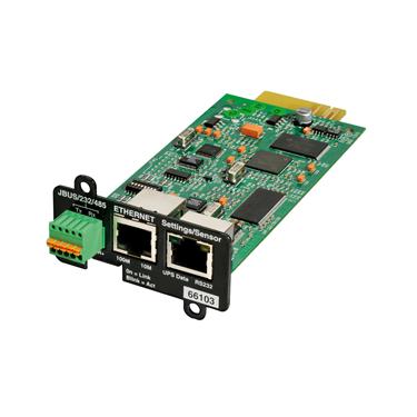 Κάρτα διαχείρισης SNMP και σηματοδοσίας modbus