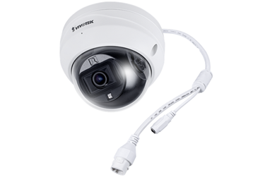Εξωτερικού χώρου 2-MP fixed dome ΙP κάμερα αντιβανδαλιστικό περίβλημα, H.265, φακός 2.8mm, Smart Stream III, WDR Enhanced, Trend Micro IoT Security