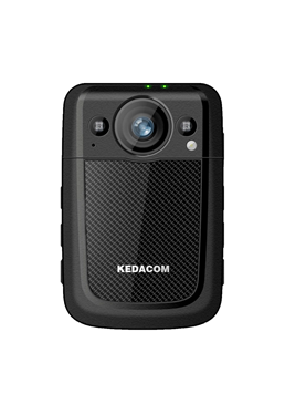 Body worn IP κάμερα με 3G/4G, Wi-Fi, GPS location, H.265/H.264, 1080p, 15μ IR, IP68, οθόνη αφής 2.4'', EIS, Push-To-Talk (PTT), Face Recognition